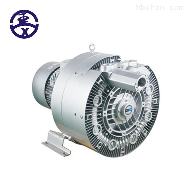鱼塘增氧用7.5KW三叶轮超高压漩涡曝气风机