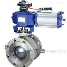 BVQ647H气动V型保温球阀