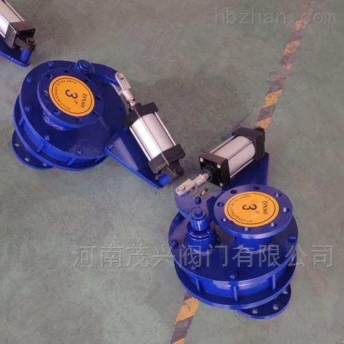 气动耐磨陶瓷摆动阀