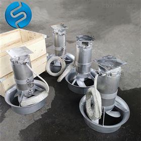 污水池潜水搅拌机如何选型
