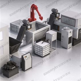 BM-1090,屑压饼金属屑压块回收系统,铁屑压饼机