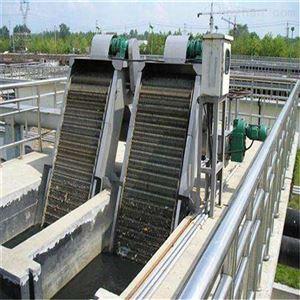 污水处理格栅池回转式机械格栅