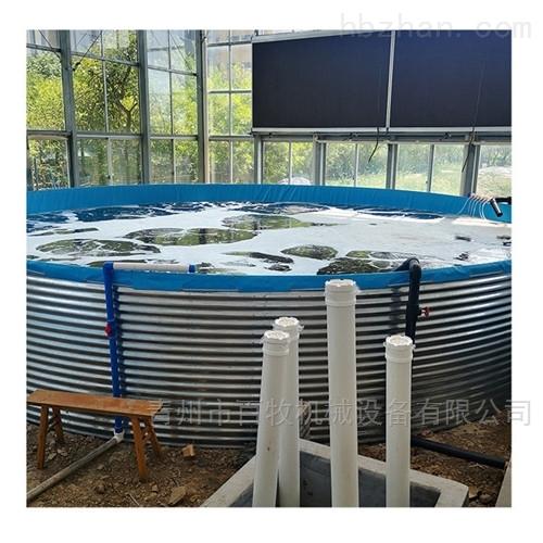 养鱼池高密度水产鱼塘