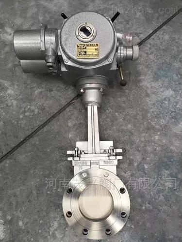 PZ973W-10NR电动高温刀型闸阀/
