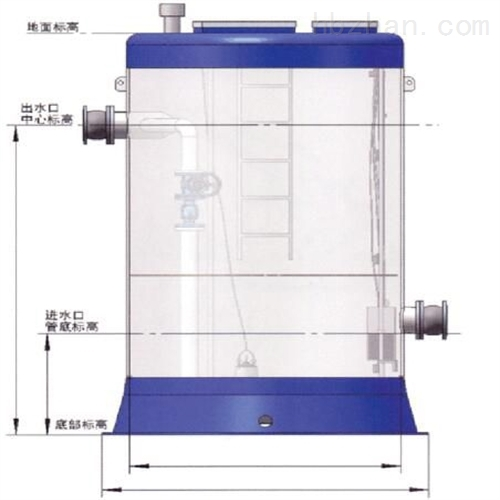 一体式提升泵站筒体代加工