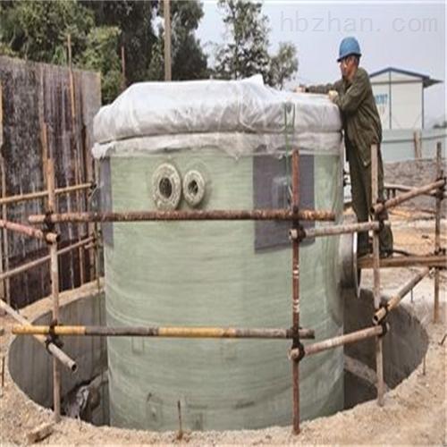 一体化污水泵站工艺