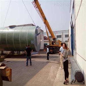 YL玻璃钢污水提升泵站工艺