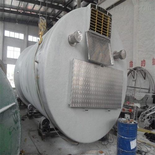 一体化雨水预制泵站性能