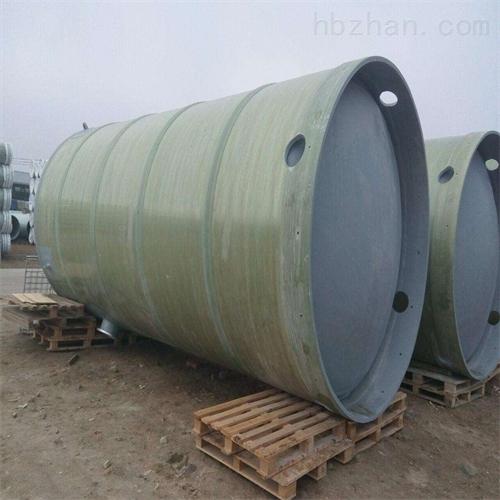 玻璃钢泵站筒体代加工