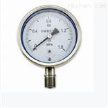 YB-100不锈钢压力表的选型与订货要求,上自仪四厂