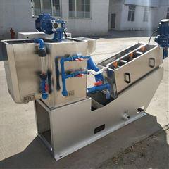 302屠宰厂污水脱泥设备 叠螺式污泥脱水机现