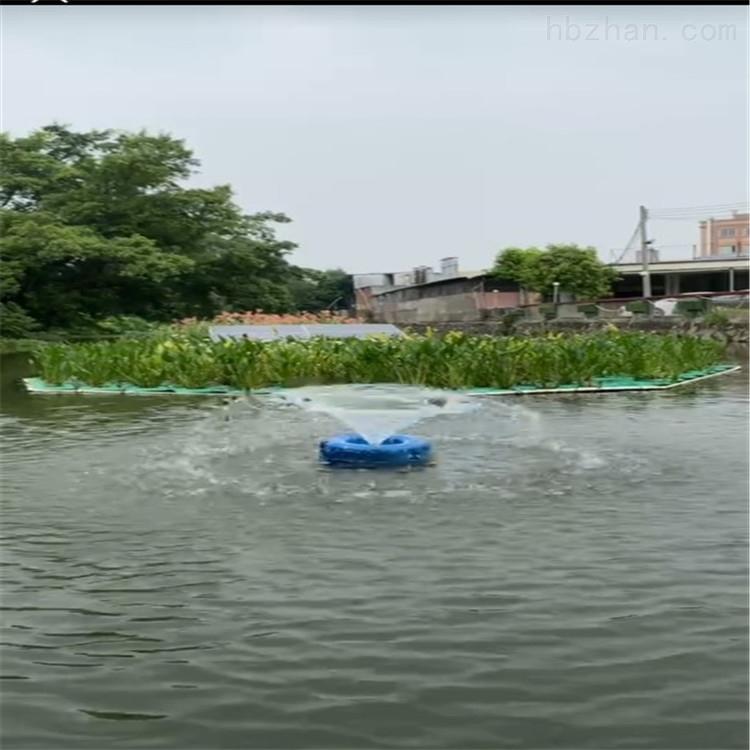 喷泉曝气机改善江水胡泊水下增氧机