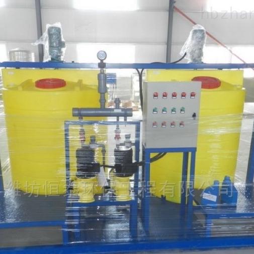北京PAC加药装置结构简单便于使用