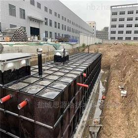 地埋式箱泵一体化 抗浮力式消防泵站水池