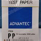 日本ADVANTEC东洋PP型酸碱测试纸