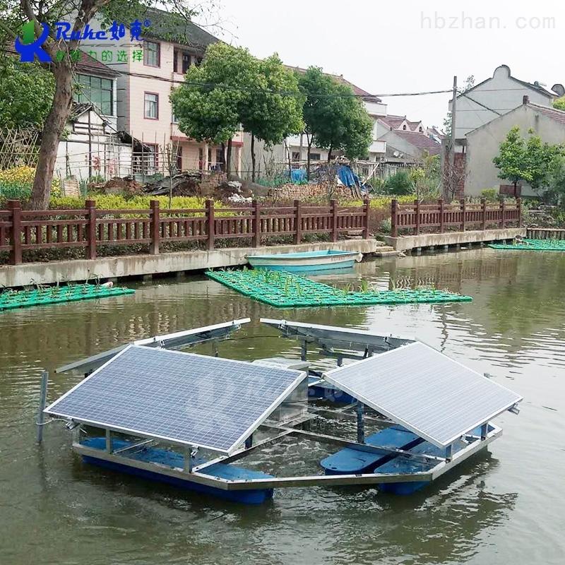 RSUN750-JC解层式太阳能增氧黑臭河治理水下曝气设备