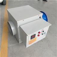 工业车间电暖风炉加热风机组装调试