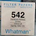 沃特曼GR 542 125mm硬化无灰级定量滤纸
