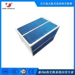 正方形半导体芯片生产换热器 气-气风冷散热装置