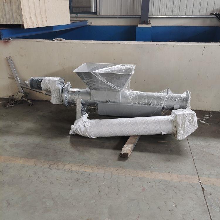 LYZ219/6不锈钢双螺旋压榨除污机配套设备