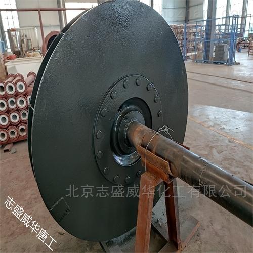 水泥厂烟道风机耐磨防腐涂料