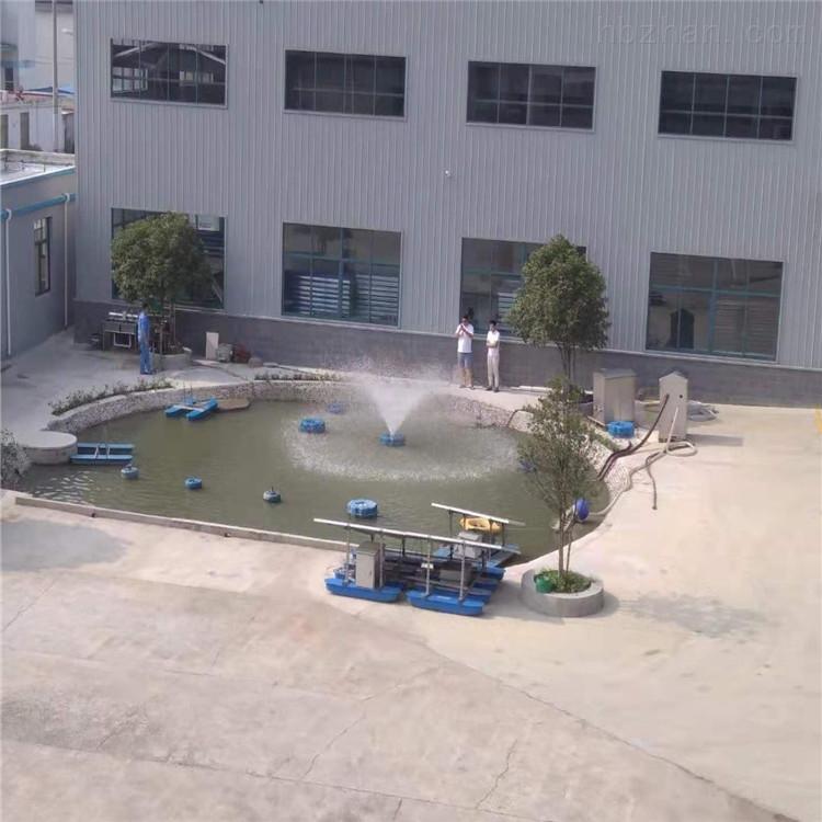 RSUN750-PQ太阳能喷泉曝气机景观喷泉光伏提水装置