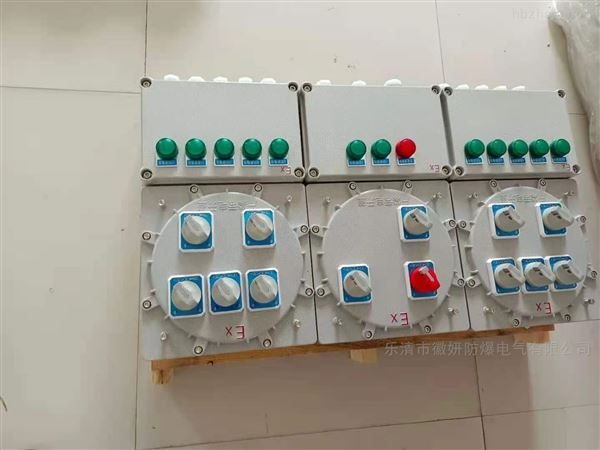 湖北定制BXM(D)电热拌专防爆配电箱