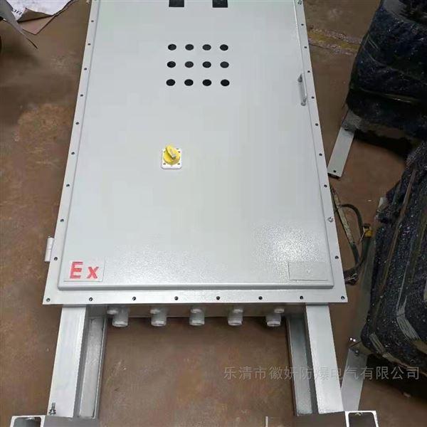 定做钢板焊接防雨防爆箱IP65*尺寸自定