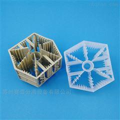 焦化脱硫塔用RPP六棱环瓷塑填料