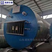 玻璃钢一体化预制提升泵站设备