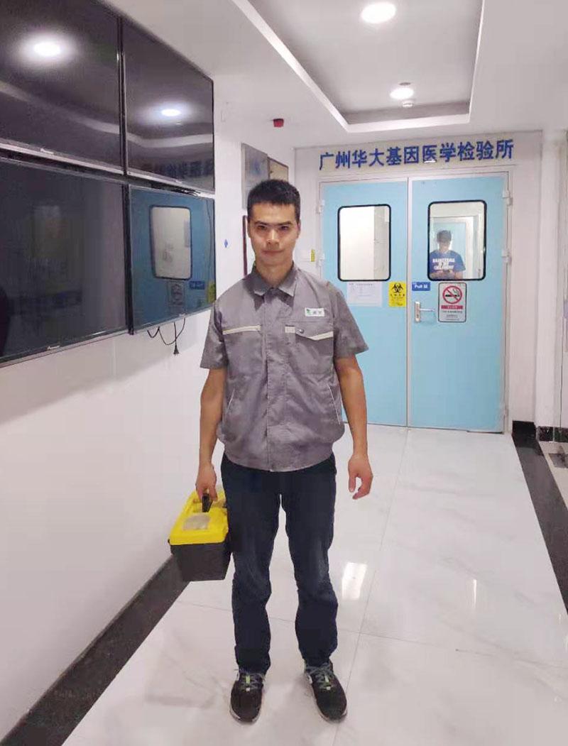 广州华大基因医学检测所废水处理安装案例