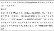 中国城乡联合体中标20.5亿廊坊污水项目 同步入围当地另一项工程
