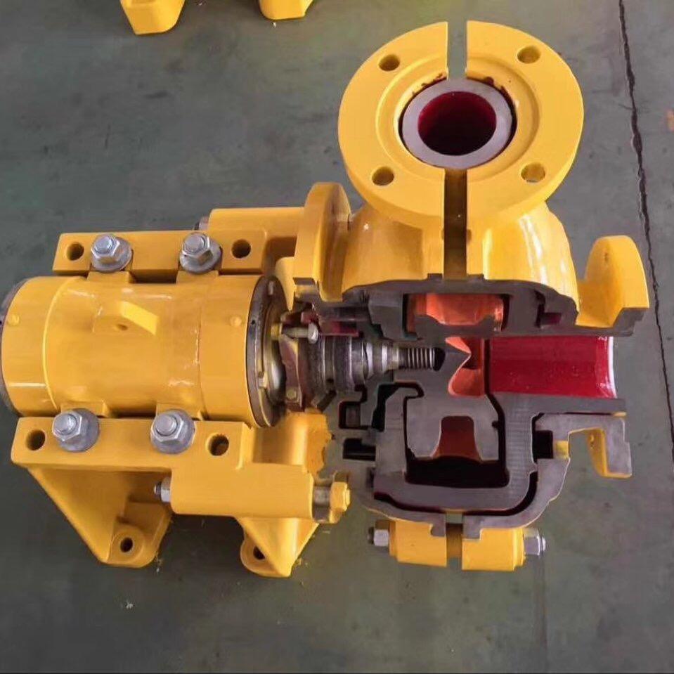 AH渣浆泵工作时的注意事项