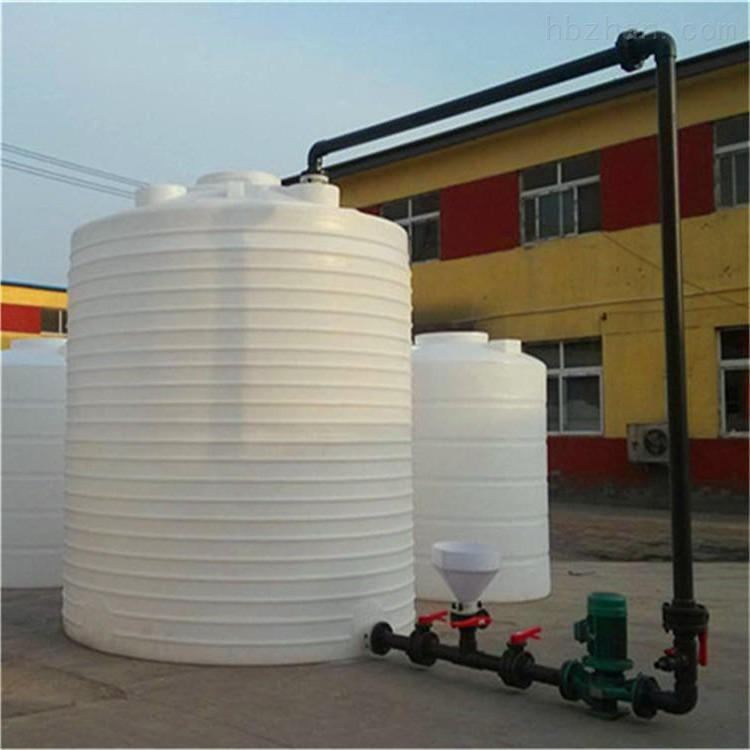 宣城8立方PE水箱  高分子聚合铁盐储罐