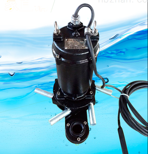 QJB冲压潜水搅拌机产品图