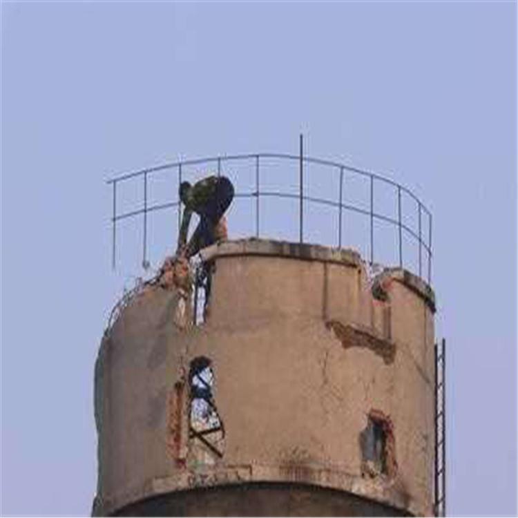 郑州拆烟囱公司-郑州扒烟囱公司-倒烟囱公司