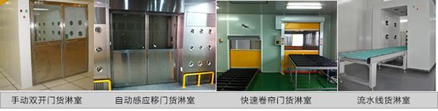 不同控制方式货淋室货淋通道