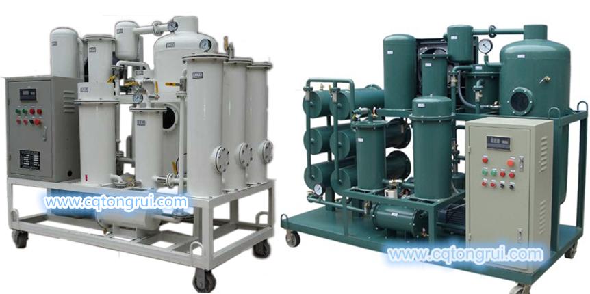 润滑油再生脱水净油装置