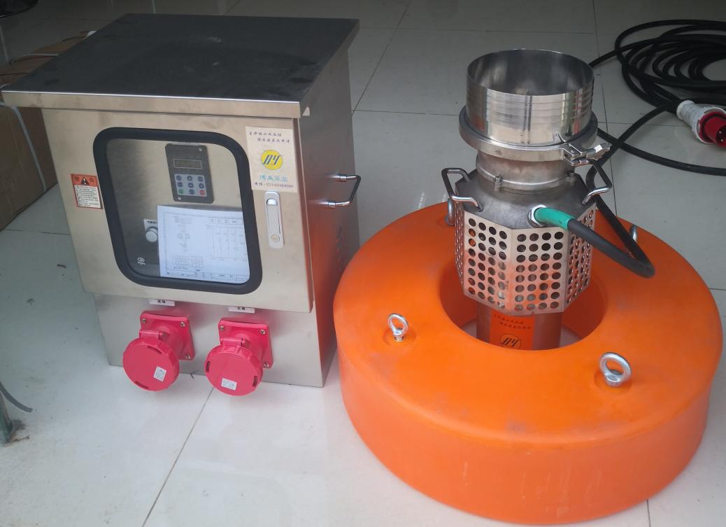 防汛泵车上的潜水泵