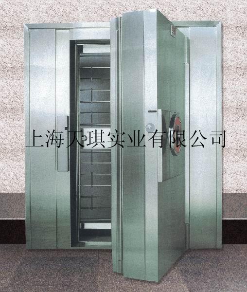 銀行不銹鋼金庫門