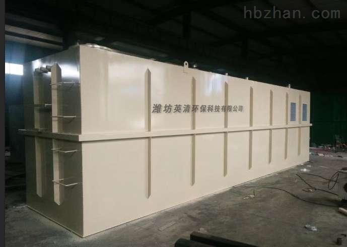 桂林地埋式污水处理一体化报价