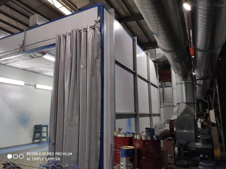 六安侧吸式喷漆房设备厂家