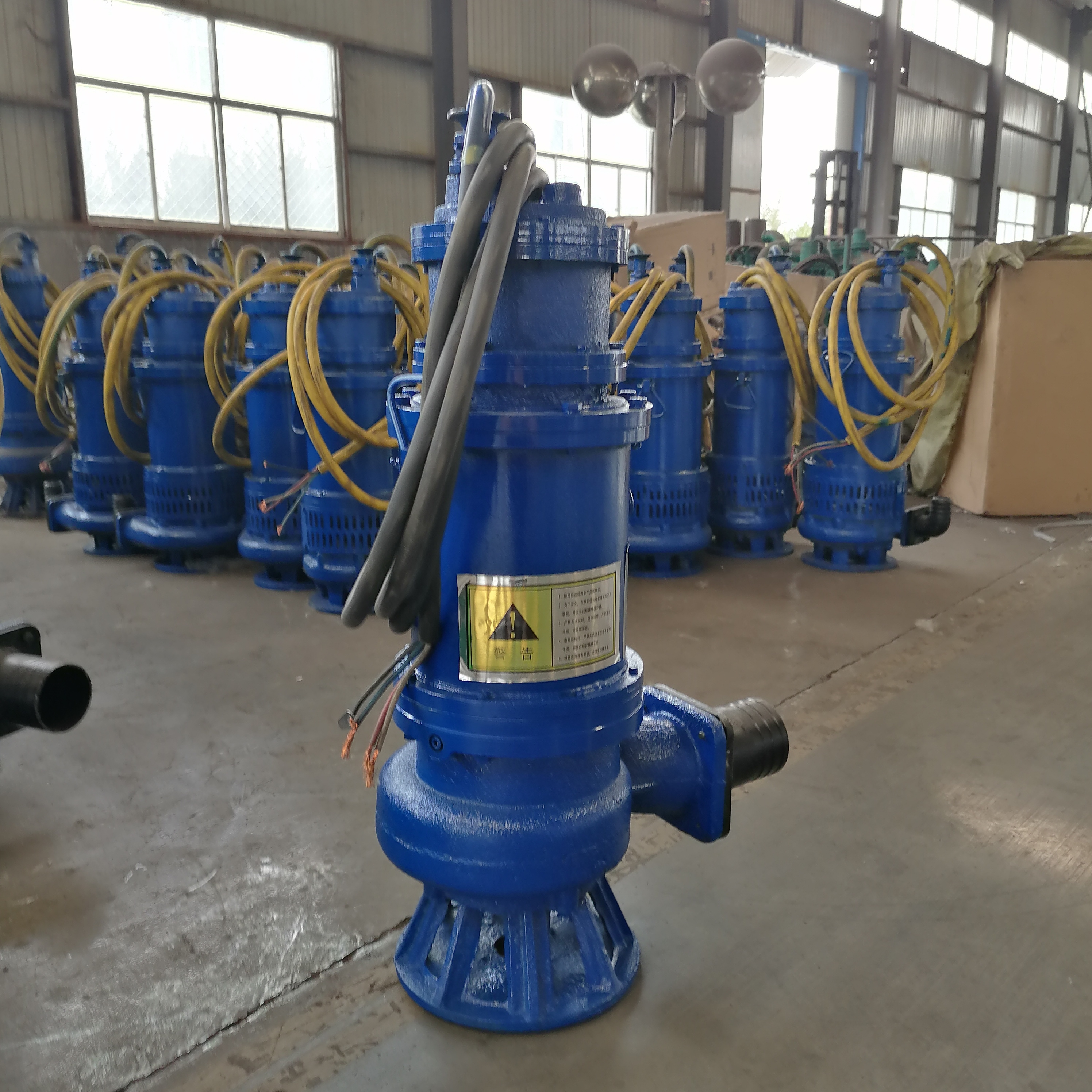 BQW矿用潜水排污泵