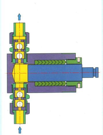 柱塞计量泵工作原理图