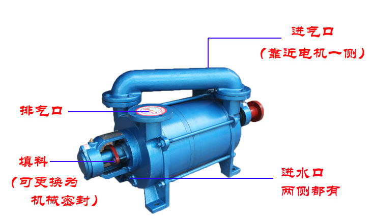 2SK真空泵结构图