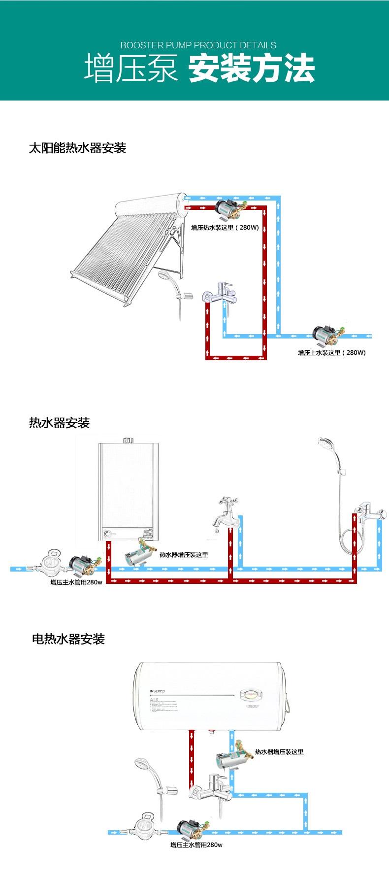 全自动增压泵安装方法