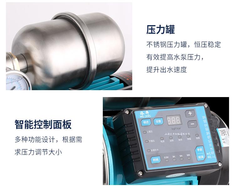 不锈钢自动自吸泵细节