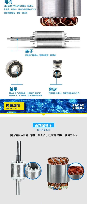 不锈钢自吸排污泵电机