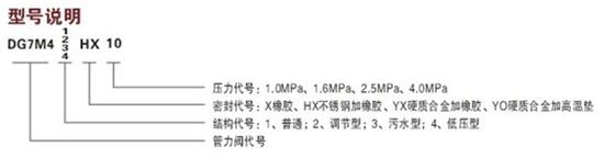 BFDG7M41HX膜片式管力阀图