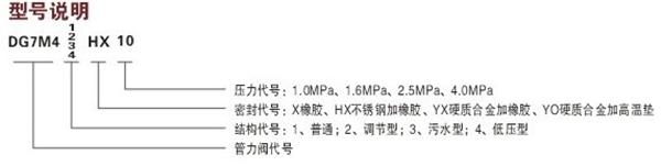 BFDG7M43HR活塞式管力阀图